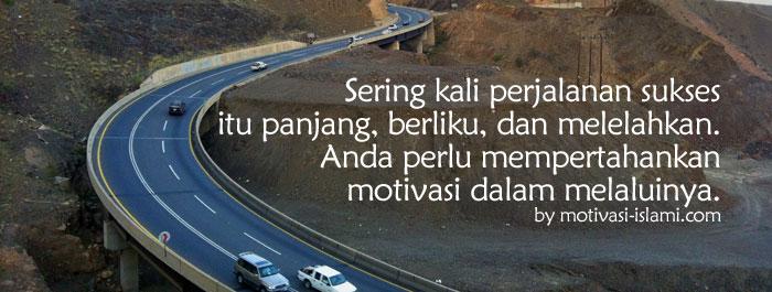 mempertahankan motivasi